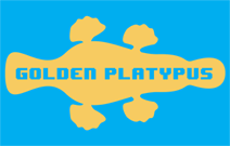 Golden Platypus Apps Retina Logo